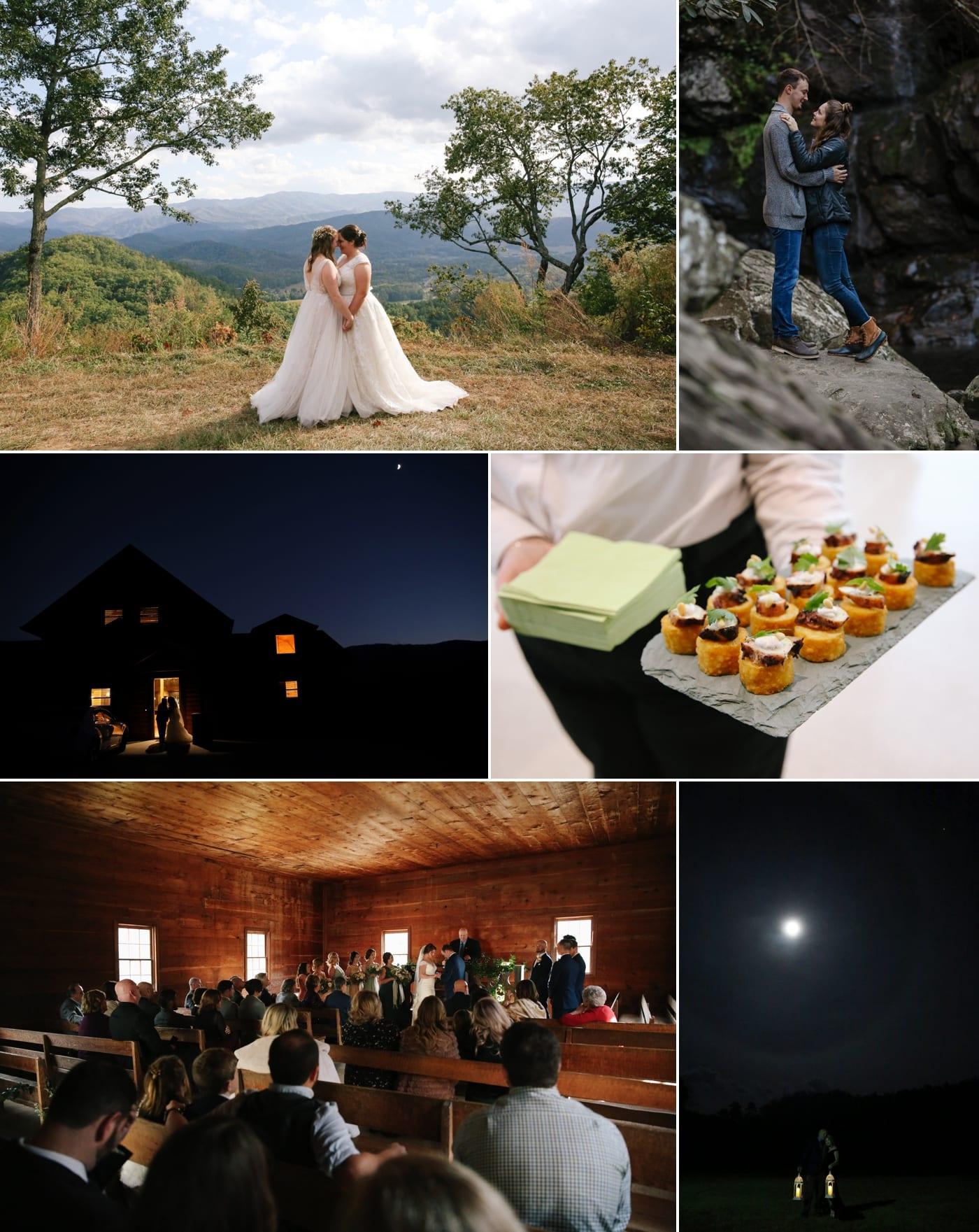 same sex wedding in the Smoky Mountains