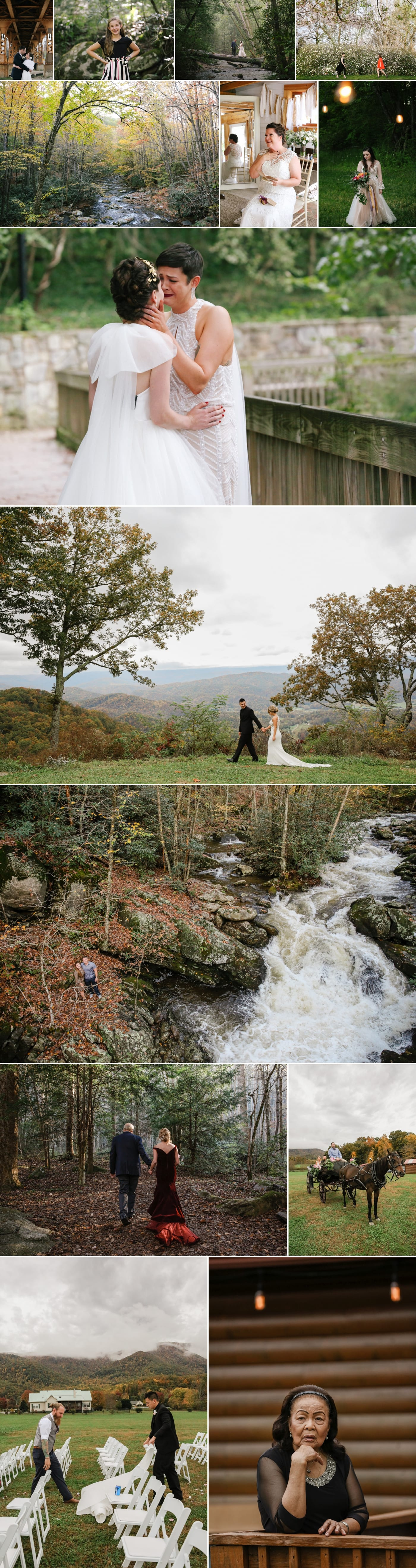 Weddings in the mountains