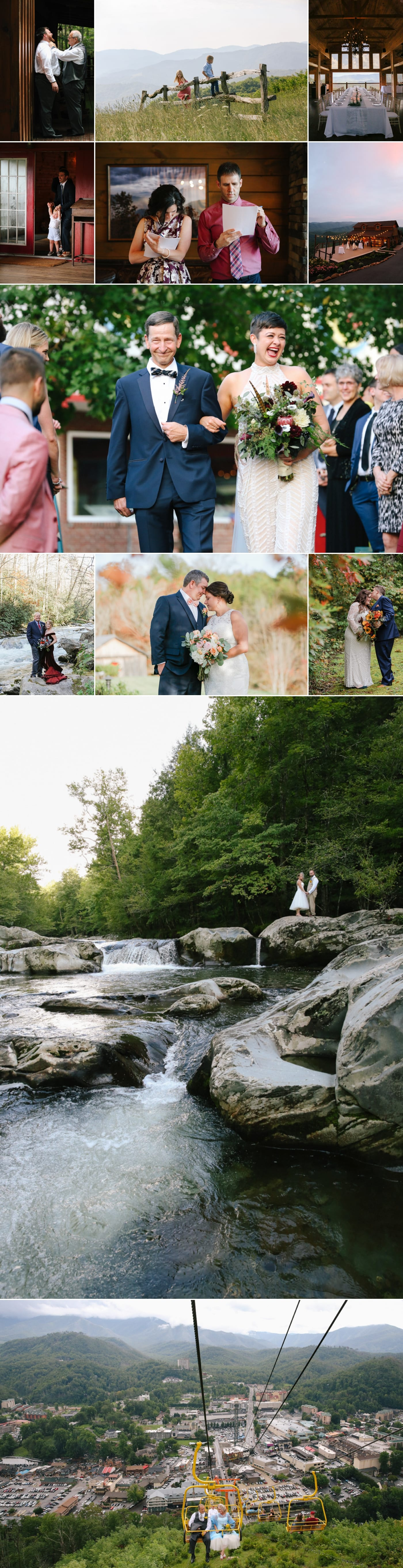 Wedding in the Smoky Mountains