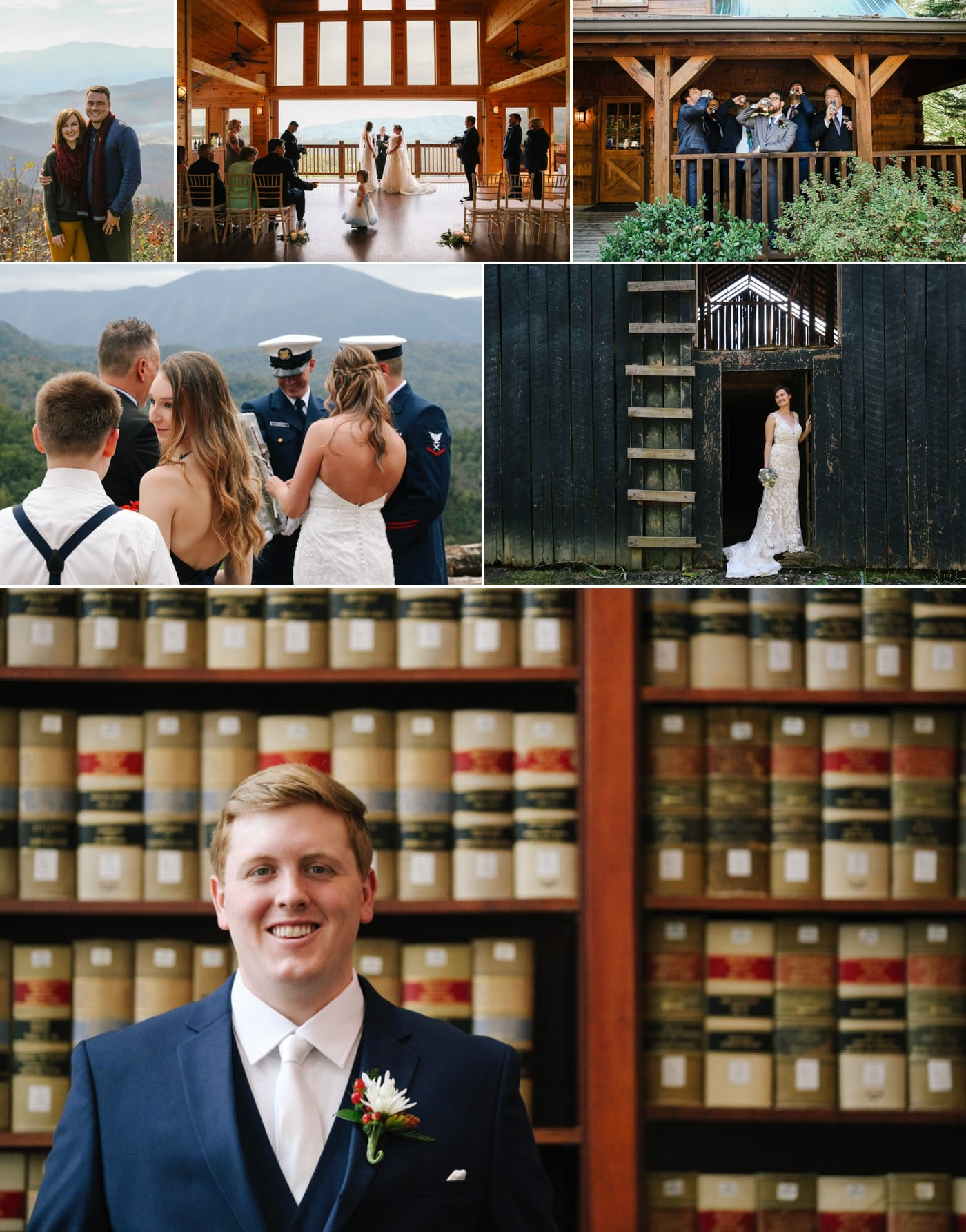 Knoxville, TN wedding day