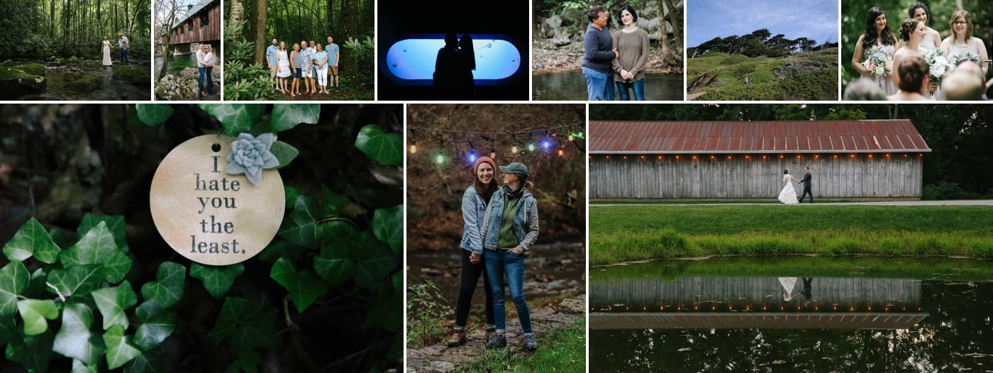 Same sex proposal in the Smoky Mountains